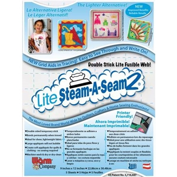 Lite Steam-A-Seam2 5stk.