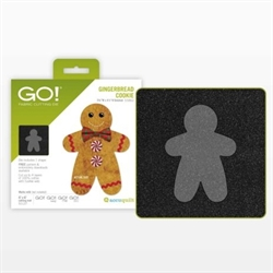 Accuquilt Skabelon – 55862 - Gingerbread Cookie