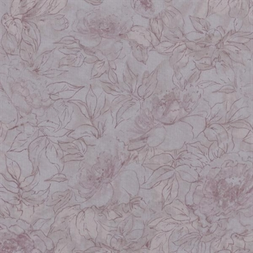 Qp42  Floral Qutline Chantilly Pink