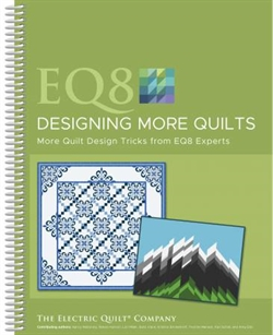 Patchwork Designsoftware Bog - EQ8 Designing more quilts