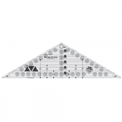 Creative Grids Non-Slip 120° Triangle Ruler