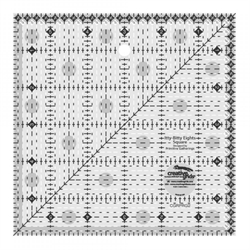 creative grids itty-bitty 6 inch patchworklineal