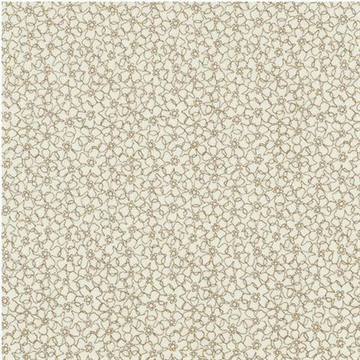 Quilters Basic Perfect Beige Blomst