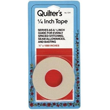 Quilters Tape 1/4""