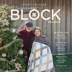 Patchworkmønsterblad - Block Magazine no 6 2020
