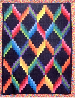 Patchwork mønster - Color Falls af Cozy Quilt Designs