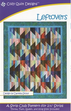 Patchwork mønster - Leftovers af Cozy Quilt Designs