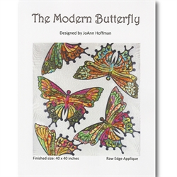 Patchwork Mønster - The modern butterfly