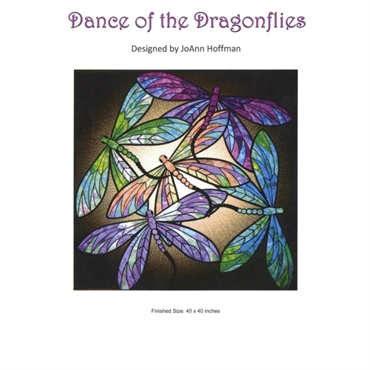 patchworkmønster Dance of the Dragonflies