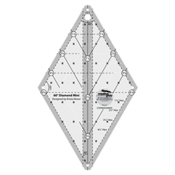 creative grids 60 diamond mini ruler