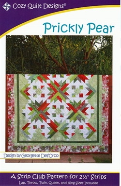 Patchwork mønster - Prickly Pears af Cozy Quilt Designs