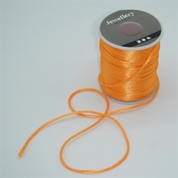 Satinsnor 2mm - Orange