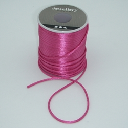 Satinsnor 2mm - Pink