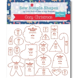 sew simple shapes cozy christmas af Lori Holt
