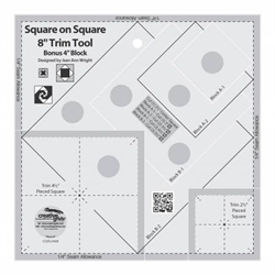Square On Square Trim Tool 8""